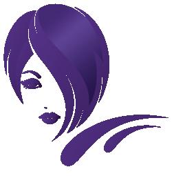 Logo Element Kopf - Coiffeur Kopfarbeit